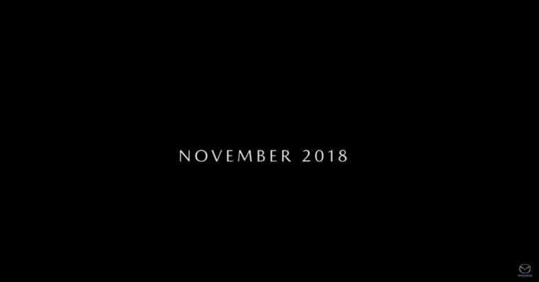 Mazda teaser video 5