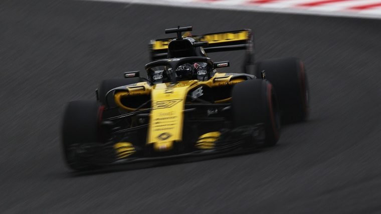 Nico Hulkenberg at 2018 Japanese GP FP1