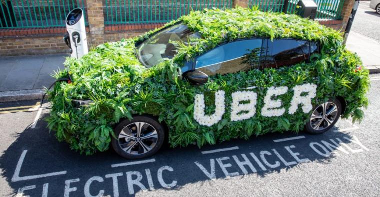 Uber green plan for London