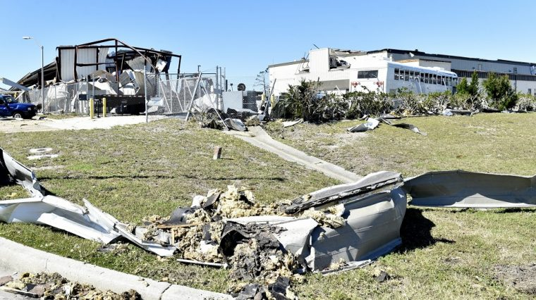 hurricane michael tyndall air force base