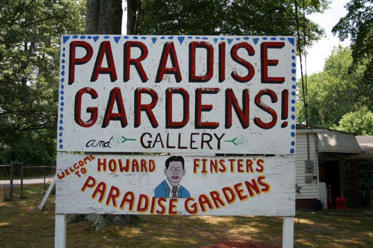 paradise gardens howard finster