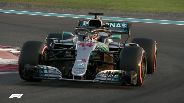 2018 Abu Dhabi GP Hamilton Qualifying
