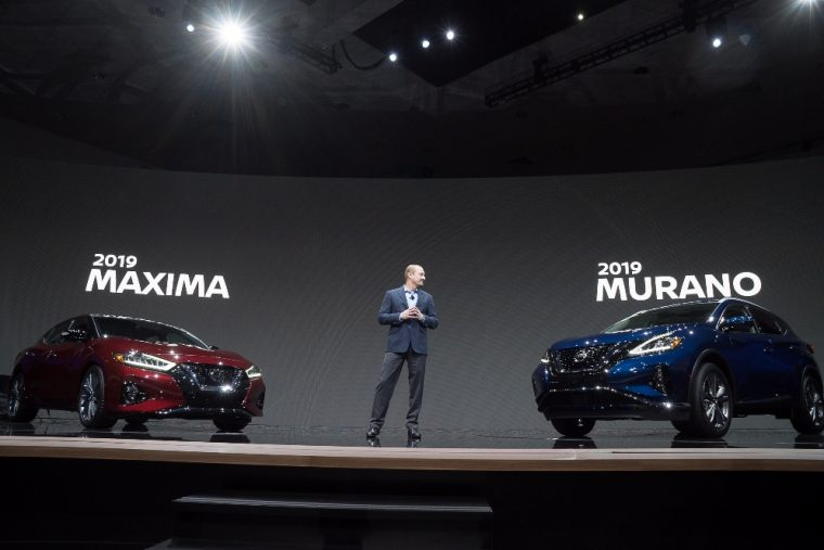 Nissan reveals refreshed 2019 Murano and 2019 Maxima