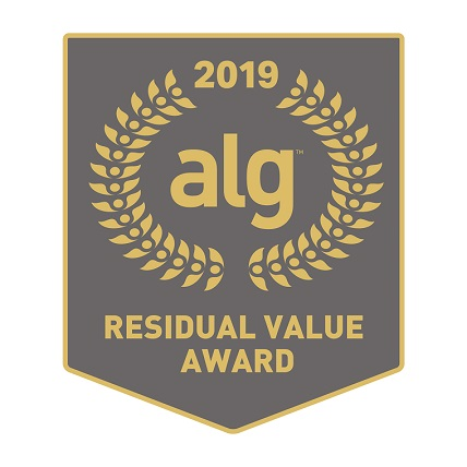 2019 ALG Residual Value Award Crest
