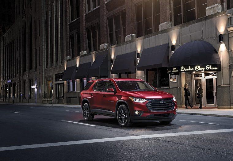 2019 Chevrolet Traverse LT Premium Package details