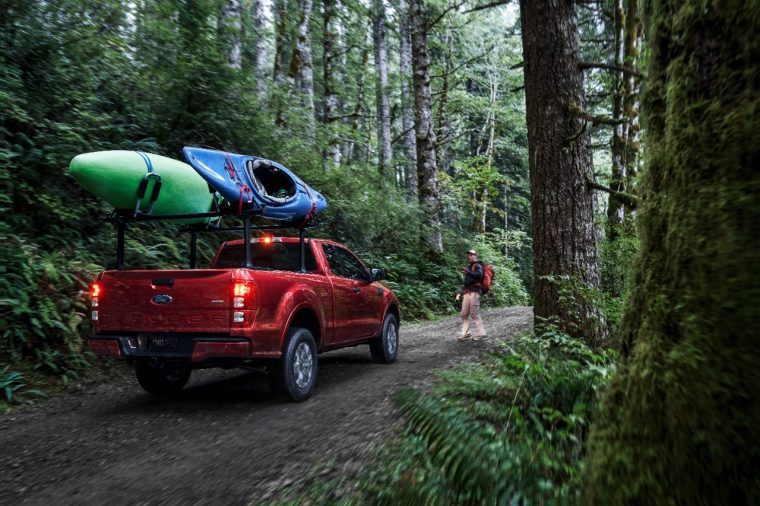 2019 Ford Ranger XLT 4x2 Super Cab | 2019 Ford Ranger Yakima Accessories