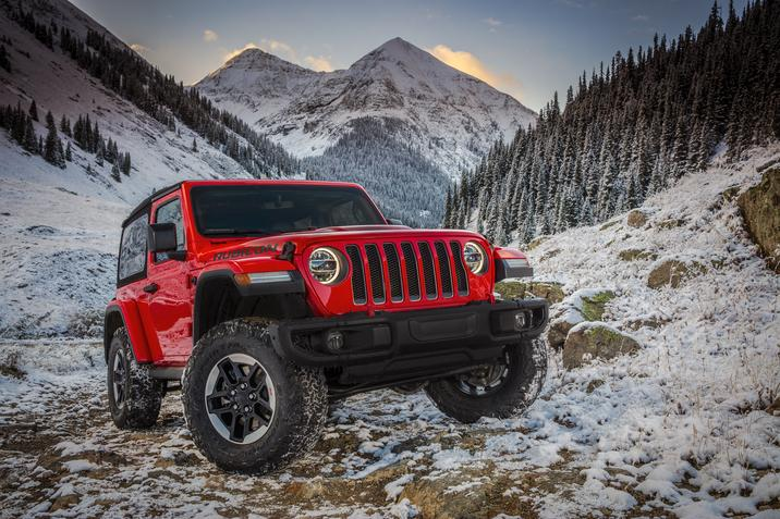 Off-Road Experts Name Jeep Wrangler Rubicon 2019 SUV of ...