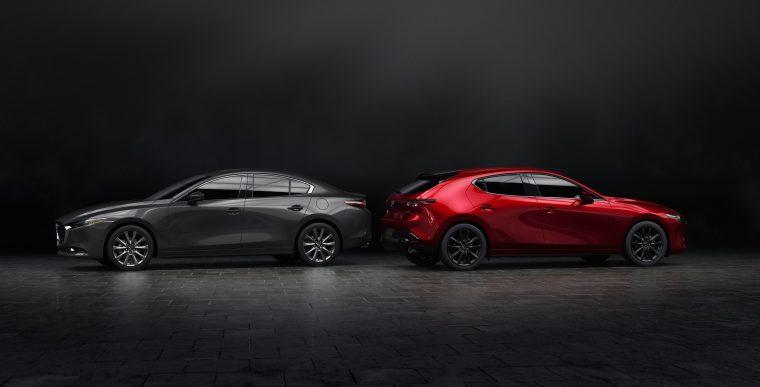 2019 Mazda3 sedan and hatchback LA Auto Show