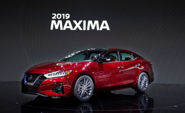 Nissan reveals refreshed 2019 Maxima