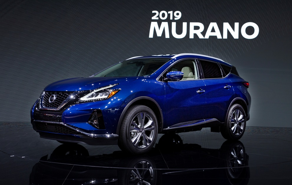 Nissan reveals refreshed 2019 Murano