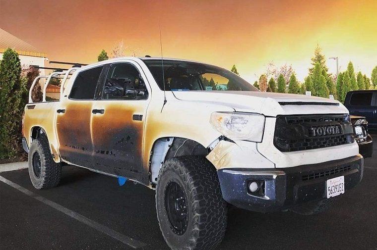 Allyn Pierce's Toyota Tundra