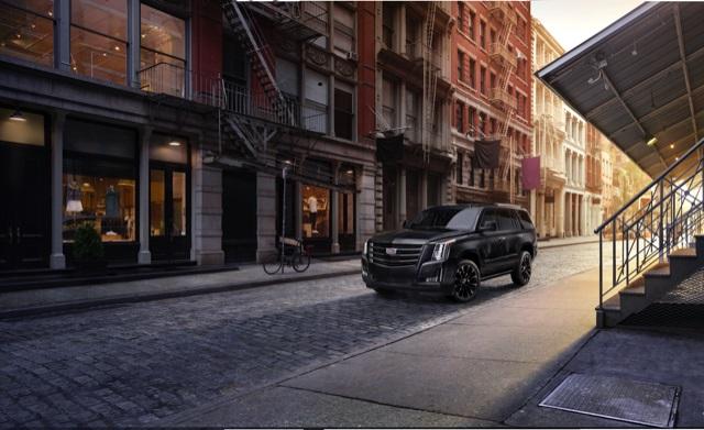2019 Cadillac Escalade Sport Edition features