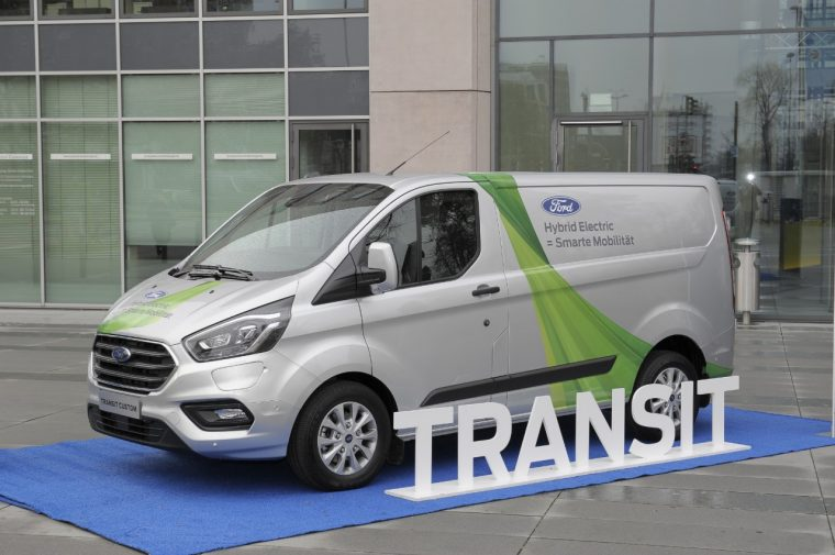 Ford Transit Connect Plug In Hybrid Trial