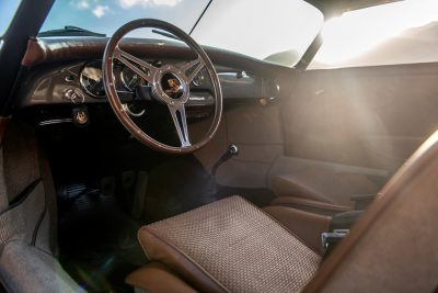 John Oates Emory Special 1960 Porsche 356B interior cabin custom