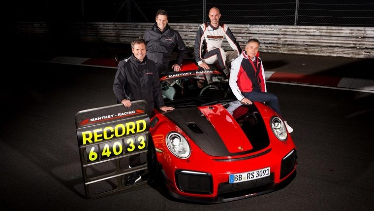 Porsche 911 GT2 RS MR Nurburgring Record