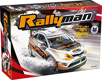 Rallyman 2009 rally racing board game
