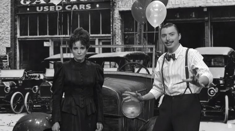 Saturday Night Live skits about cars SNL sketches driving vehicles funny celebrities model T used cars