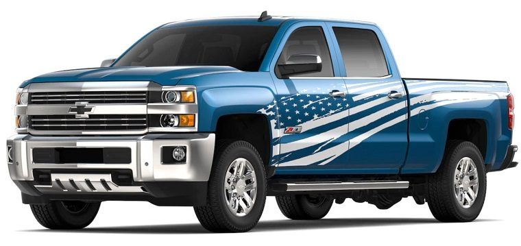 2019 Chevrolet Silverado 2500HD and 3500HD Tribute Edition