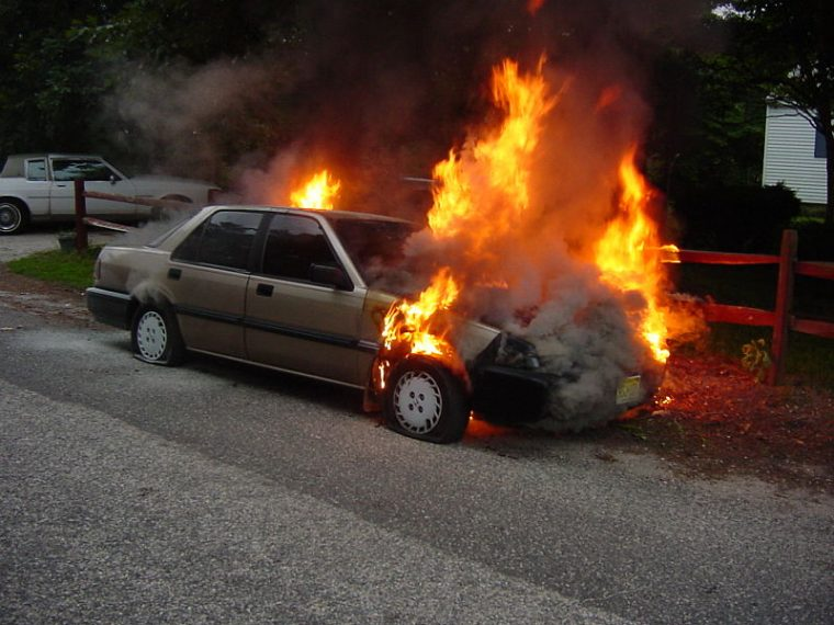 Why Cars Catch Fire