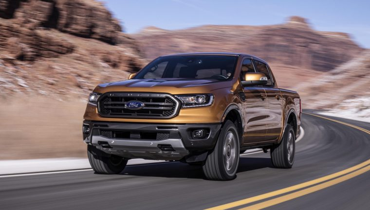 2019 Ford Ranger most fuel-efficient