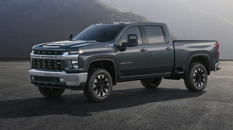 2020 Chevrolet Silverado HD truck features