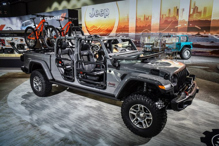 2020 Jeep Gladiator Rubicon Modified by Mopar