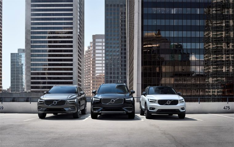 Volvo wins multiple awards with the XC90 and XC40