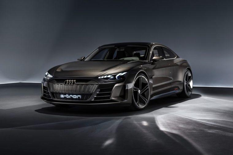 Audi e-tron GT concept LA Auto Show