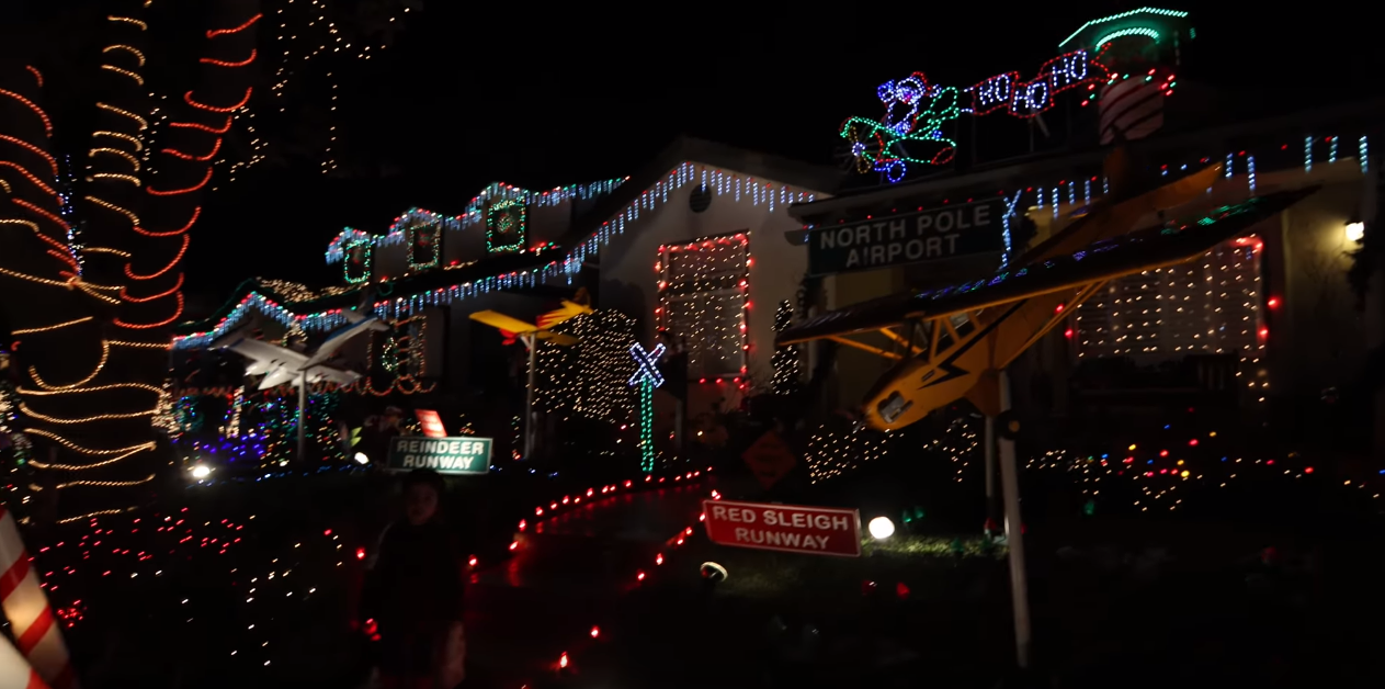 Christmas Runway Lights.3 Drive Thru Holiday Light Displays In California The News