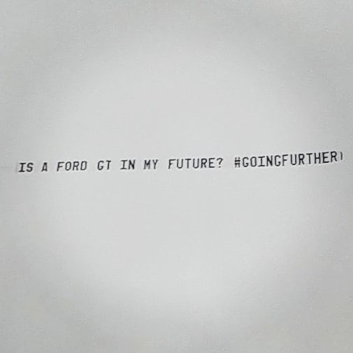 Plane Over Ford World HQ