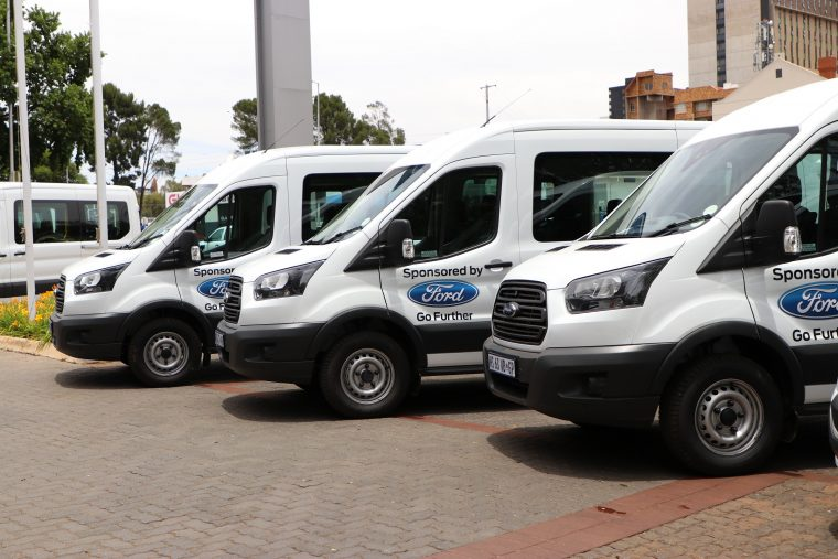 Ford Vehicle Donation - South Africa