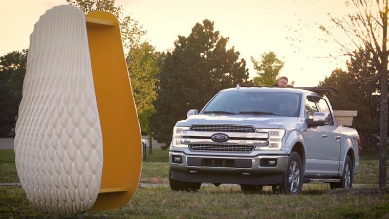 Ford moves Honeycomb Sail beehives