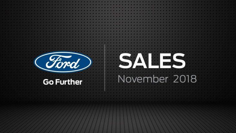 Ford sales November 2018