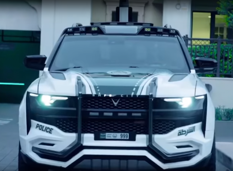 Chevy Tahoe Based Giath Joins Dubai Police Department