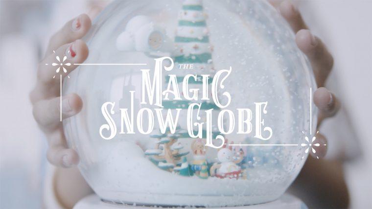 Magic Snow Globe VR Experience