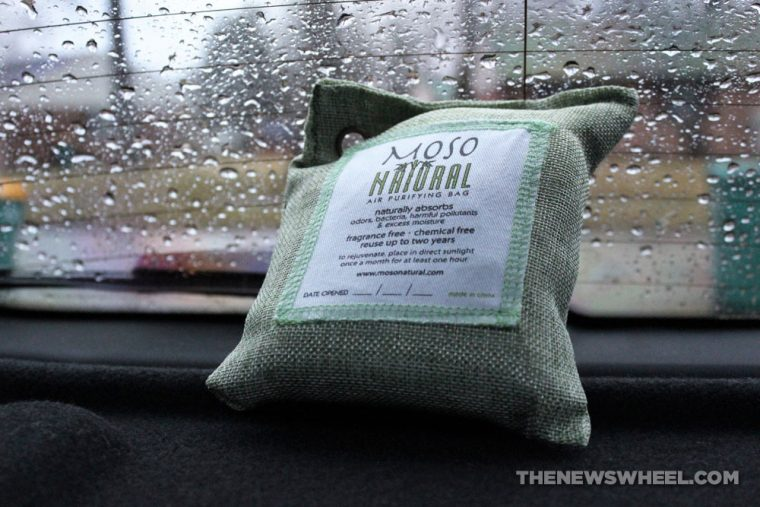 Moso Natural Air Purifying Bag Review Bamboo Charcoal Car Freshener