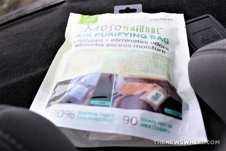 Moso Natural Air Purifying Bag Review Bamboo Charcoal Car Freshener buy