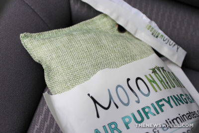 Moso Natural Air Purifying Bag Review Bamboo Charcoal Car Freshener package