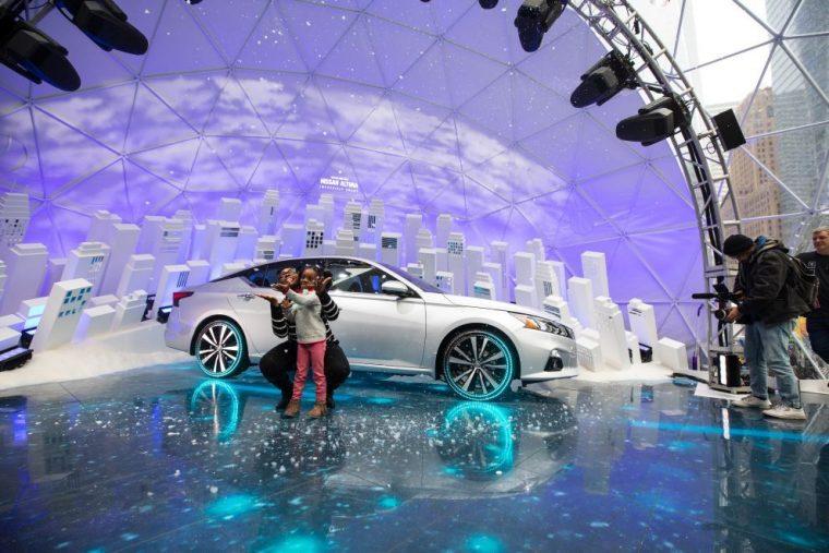 Nissan Altima Snow Globe