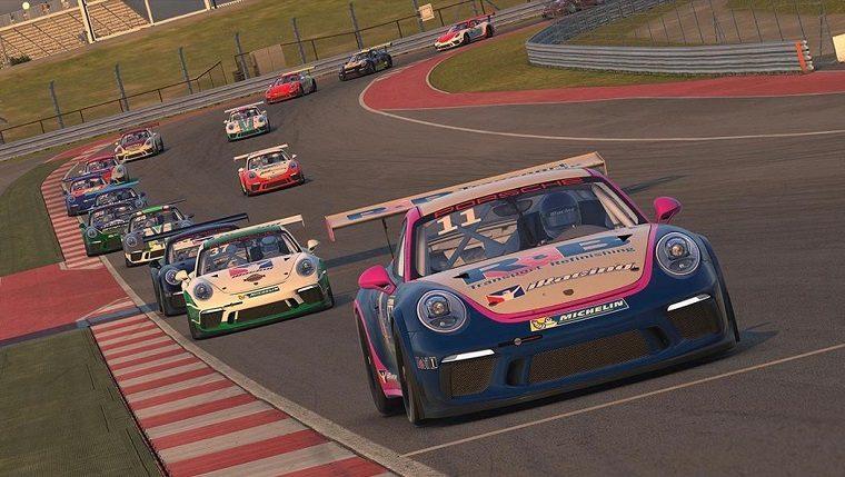 Porsche 911 GT3 in iRacing