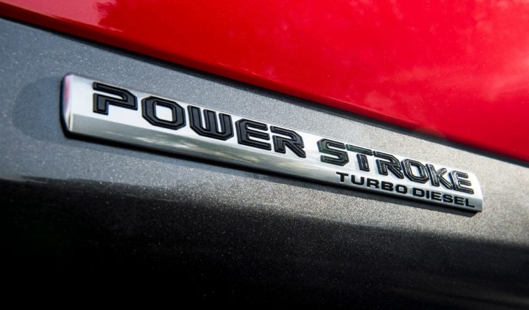 Power Stroke Turbo Diesel Badge | Ford Lands Two Engines on 2019 Wards 10 Best Engines List