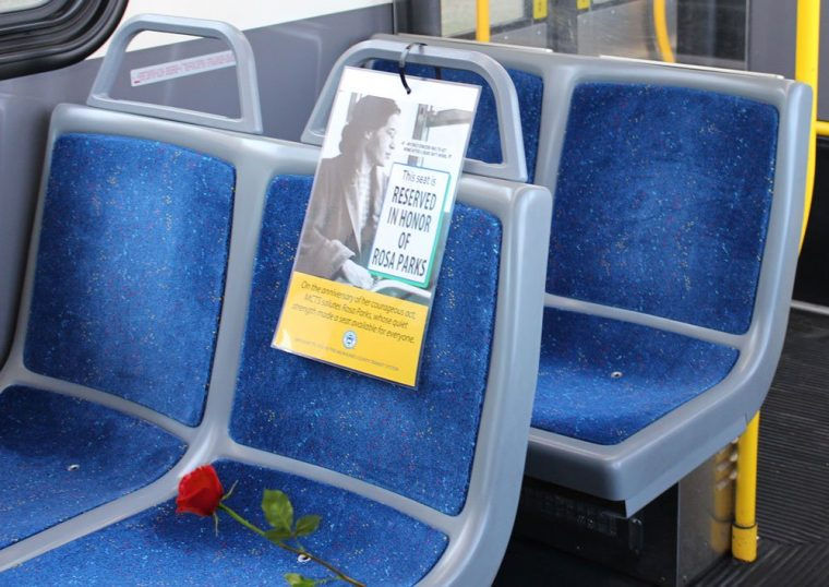 Rosa Parks Bus Milwaukee