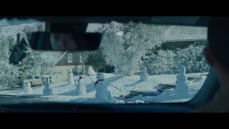 Toyota Toyotathon commercial Home for the Holidays Saluting Snowmen
