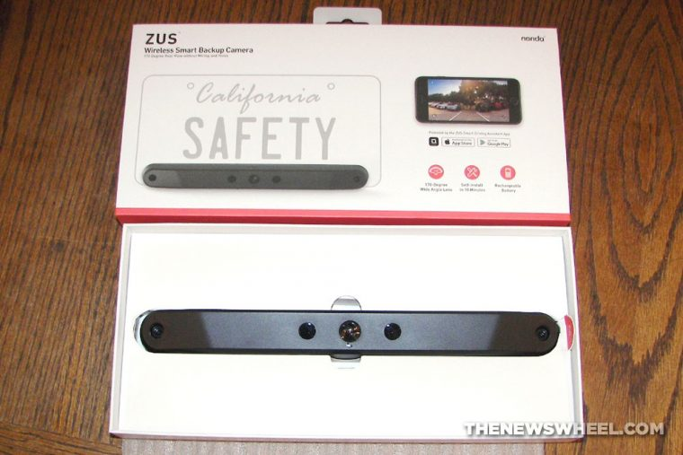 Zus Wireless smart backup camera review remote phone car accessory iphone android
