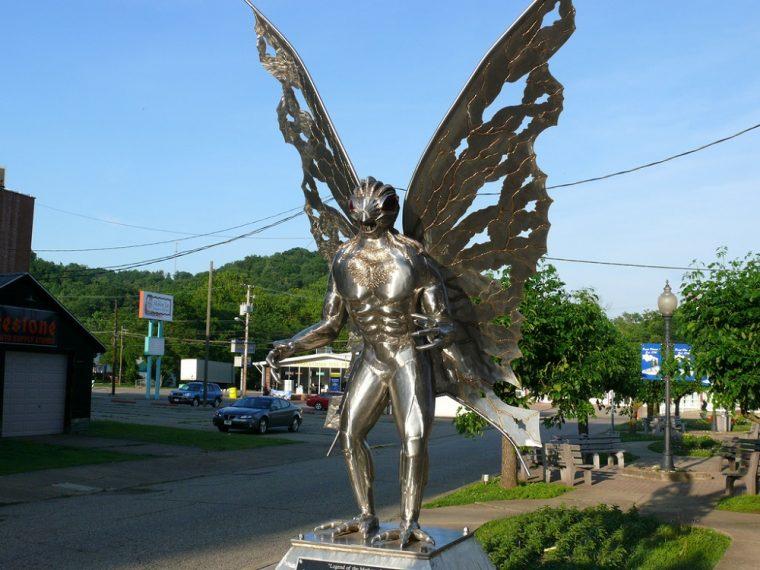 mothman statue point pleasant west virginia