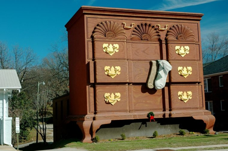 worlds largest chest of drawers high point north carolina