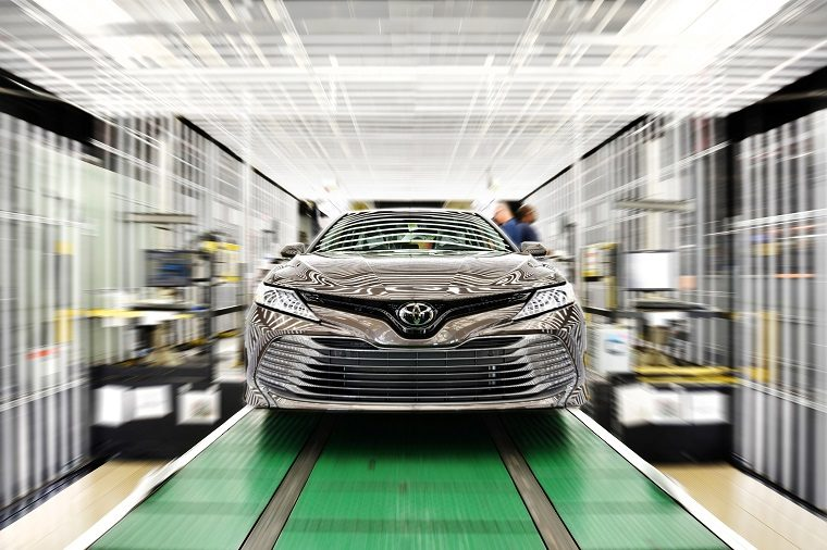 2018 Toyota Camry produced at TMMK