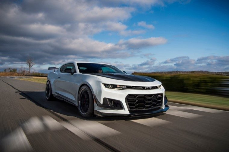 2019 Chevrolet Camaro ZL1 1LE 10-speed automatic transmission