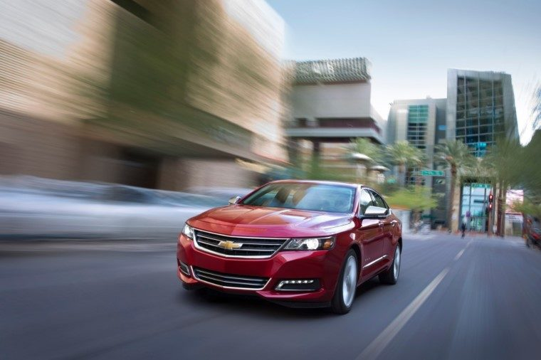 2020 Chevy Impala Named Best Large Car For The Money By Us News The News Wheel