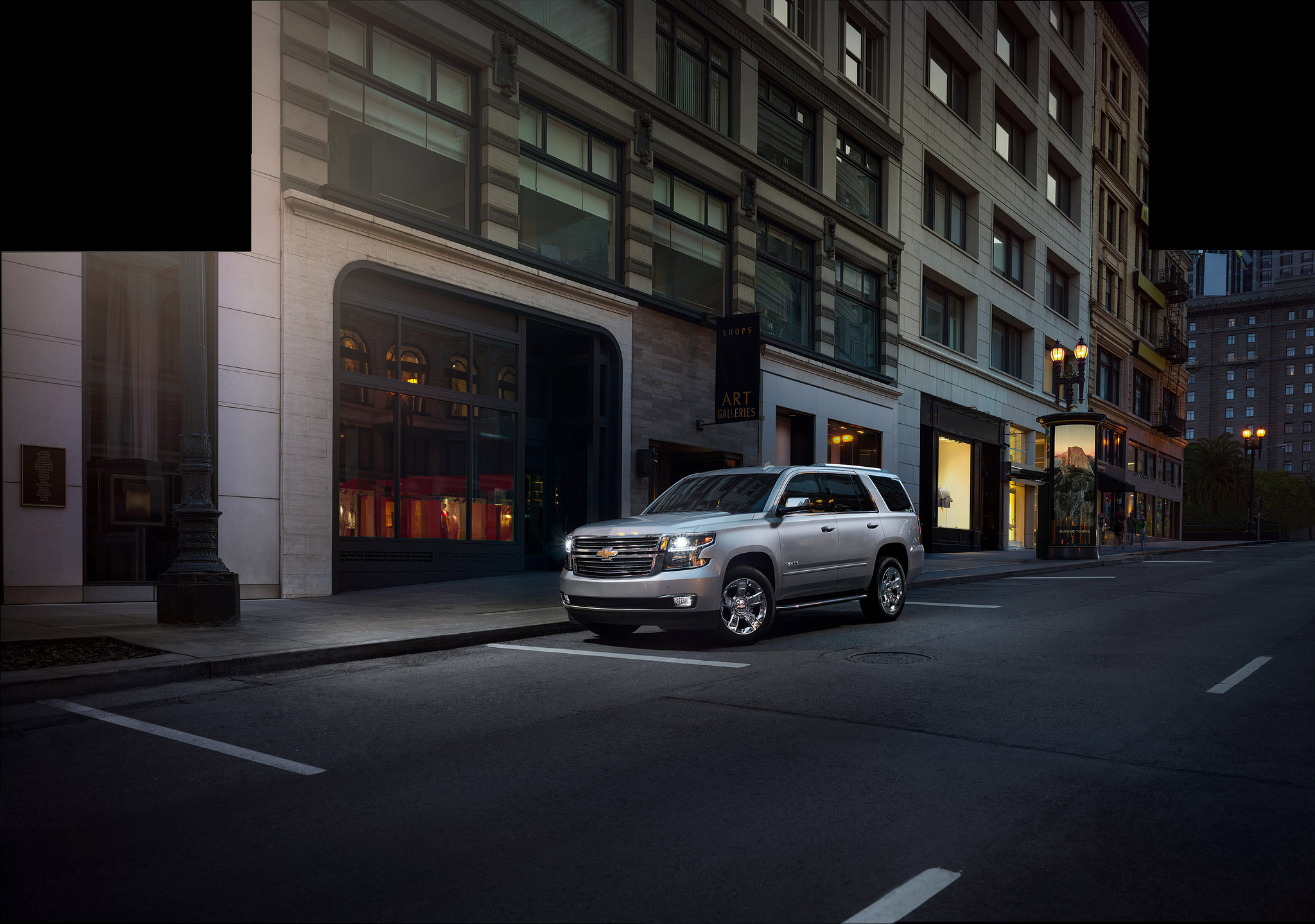 2020 Chevy Tahoe Gets Subtle Modifications - The News Wheel